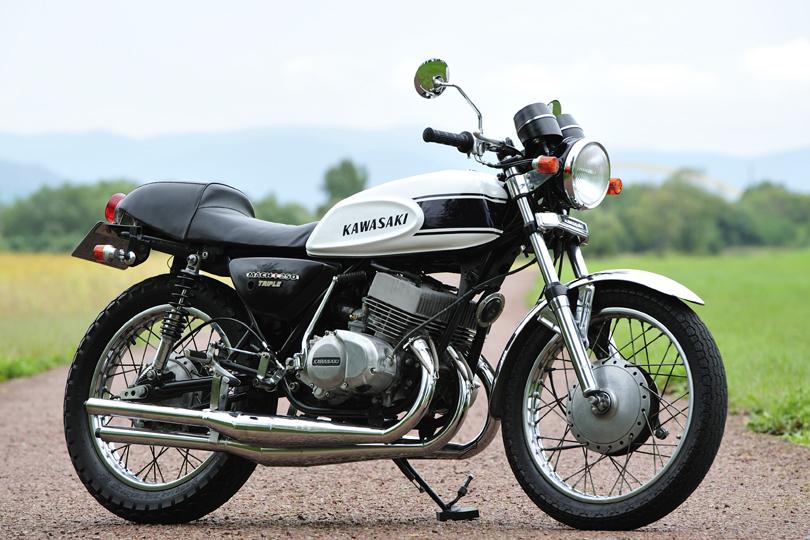 250ss Kawasaki Bike Man R