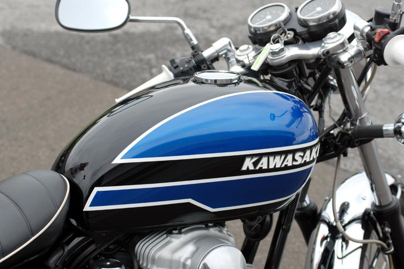W650 Kawasaki Bike Man R